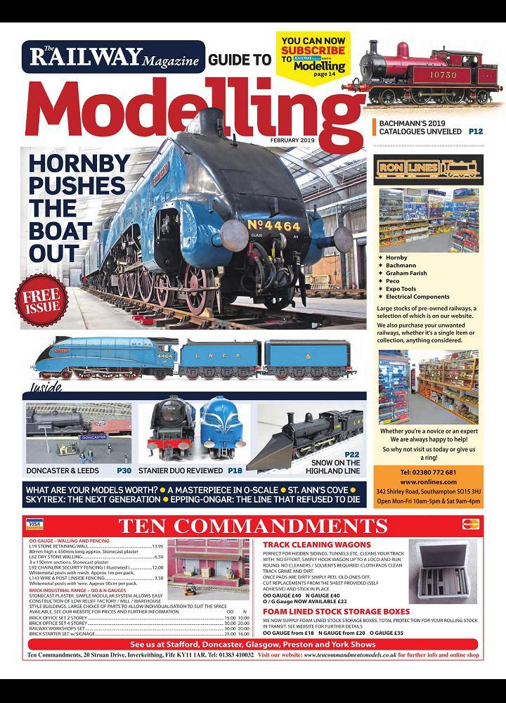 [美国版]铁路杂志模型指南-Railway Magazine Guide to Modelling - 2019年02月