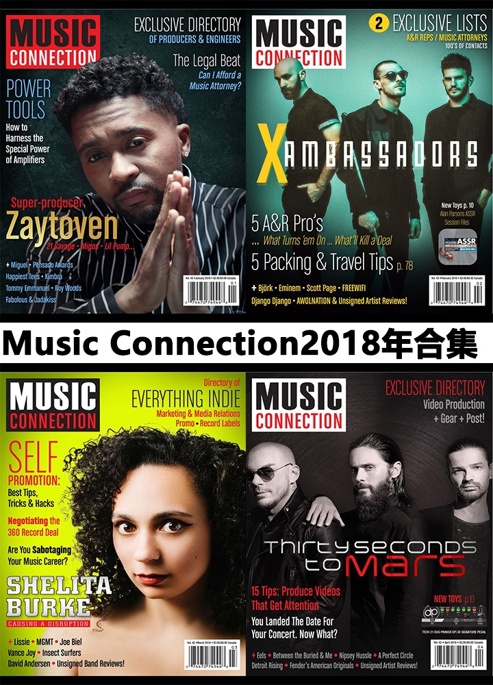 Music Connection-Music Connection- 2018年合集