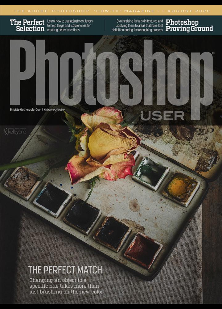 [美国版]Photoshop User 2020年08月 美国版 Photoshop User 月刊 第1张