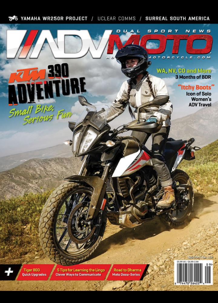 [美国版]Adventure Motorcycle - 2020年09-10月
