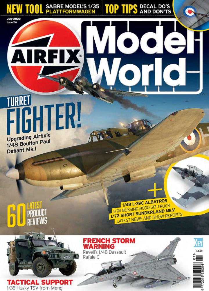 [英国版]Airfix Model World - 2020年07月