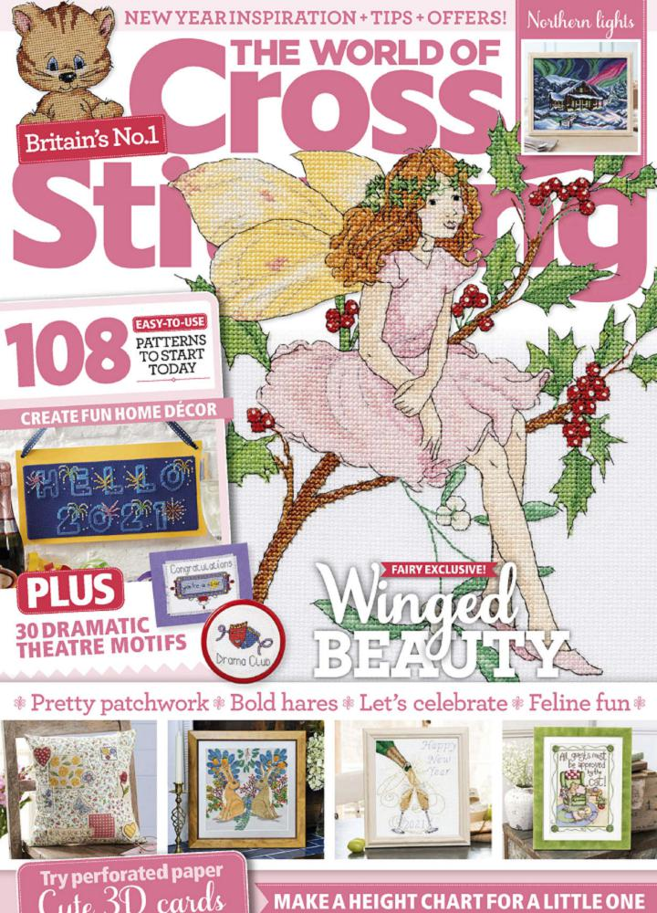[英国版]十字绣的世界 The World of Cross Stitching 2021年01月 英国版 The World of Cross Stitching 月刊 第1张