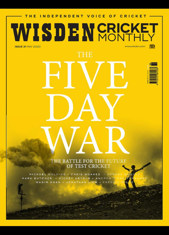 [英国版]Wisden Cricket Monthly 2020年05月 英国版 Wisden Cricket Monthly 月刊 第1张