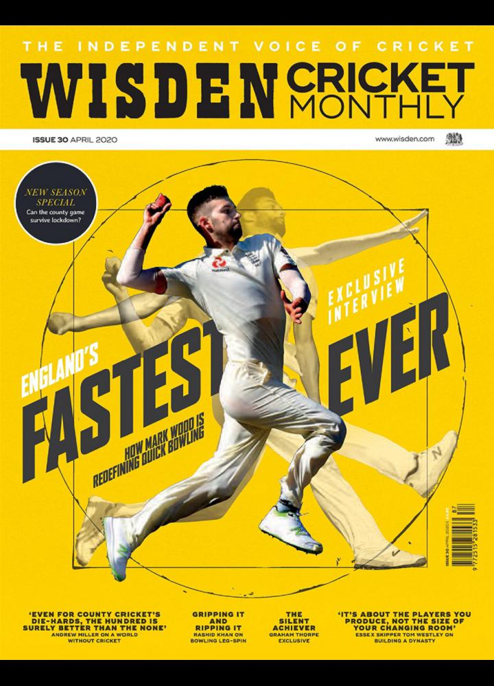 [英国版]Wisden Cricket Monthly 2020年04月 英国版 Wisden Cricket Monthly 月刊 第1张