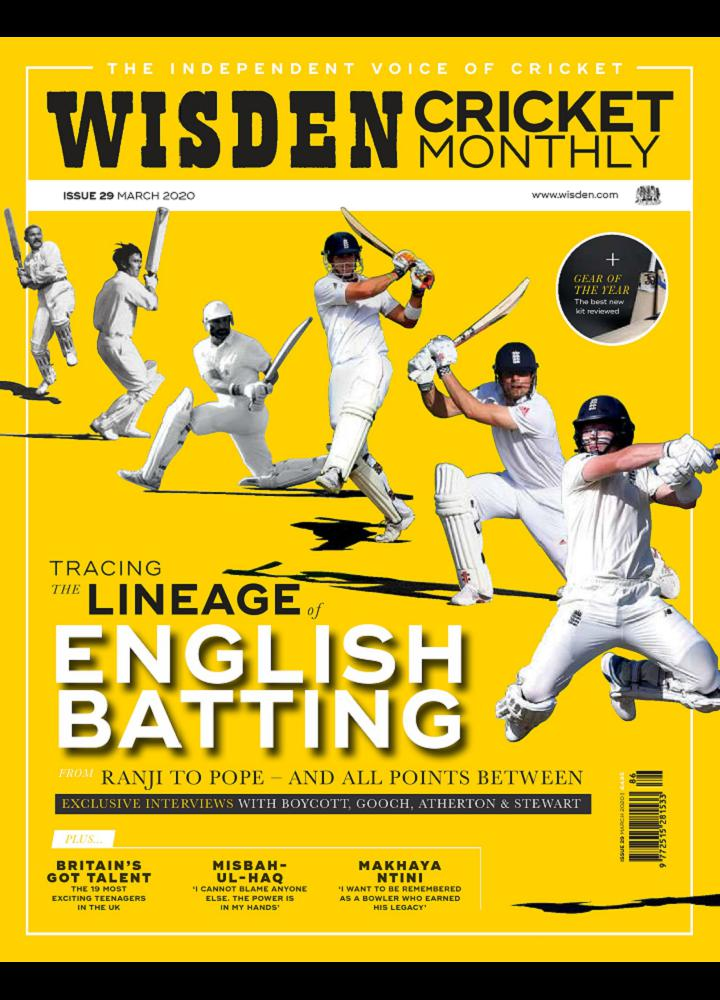 [英国版]Wisden Cricket Monthly 2020年03月 英国版 Wisden Cricket Monthly 月刊 第1张