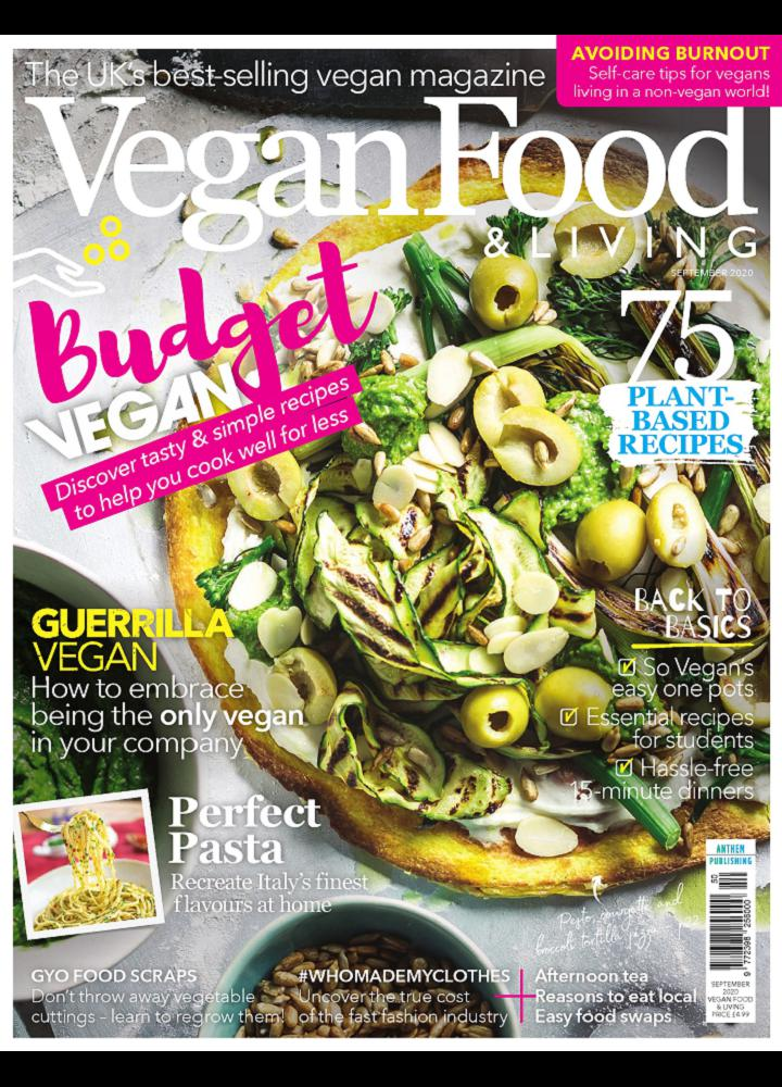 [英国版]Vegan Food And Living 2020年09月 英国版 Vegan Food And Living 月刊 第1张