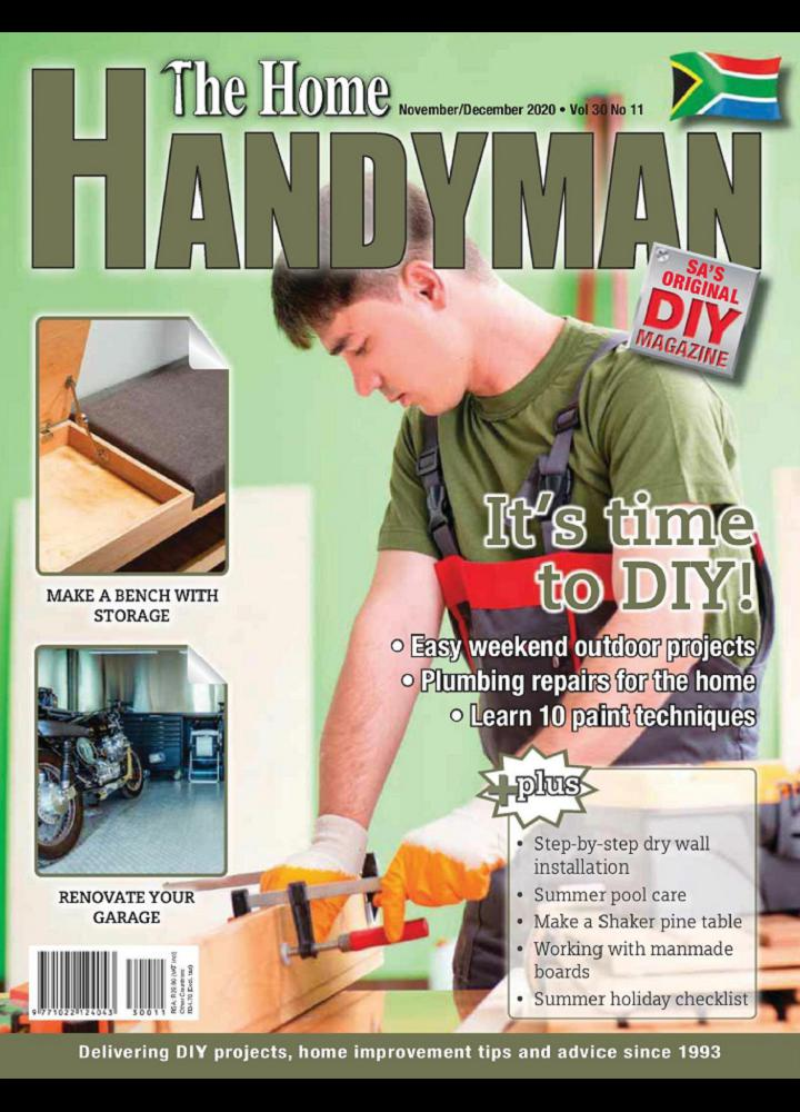 [南非版]The Home Handyman - 2020年11-12月