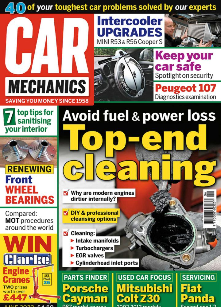 [英国版]Car Mechanics 2020年06月 英国版 Car Mechanics 月刊 第1张