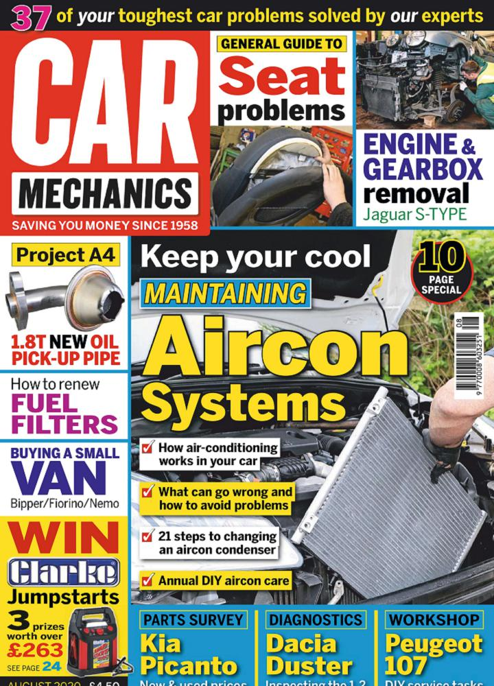 [英国版]Car Mechanics 2020年08月 英国版 Car Mechanics 月刊 第1张