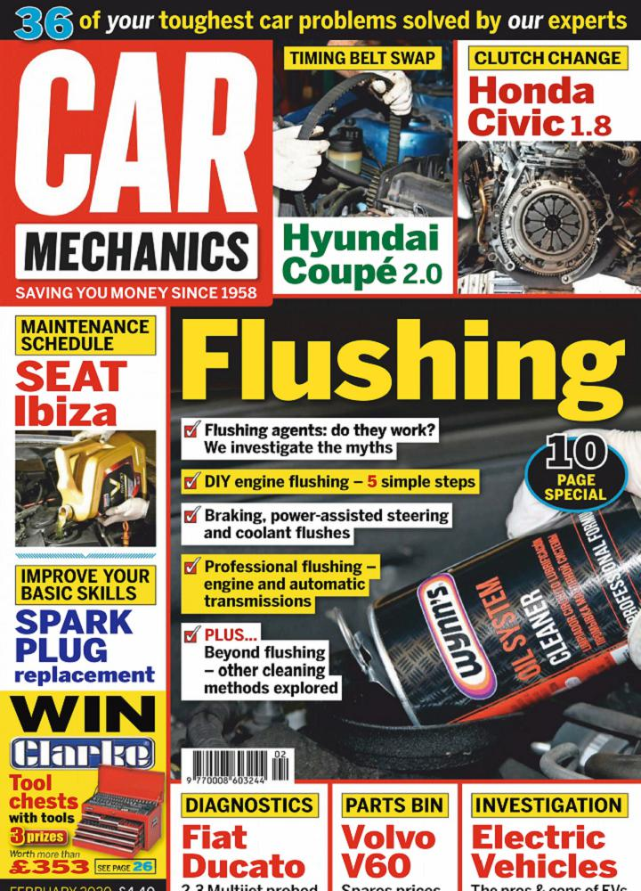 [英国版]Car Mechanics 2020年02月 英国版 Car Mechanics 月刊 第1张