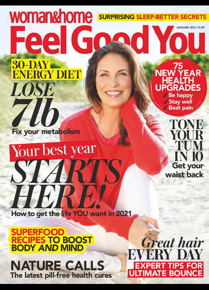 [英国版]Woman And Home Feel Good You 2021年01月 英国版 Woman And Home Feel Good You 月刊 第1张
