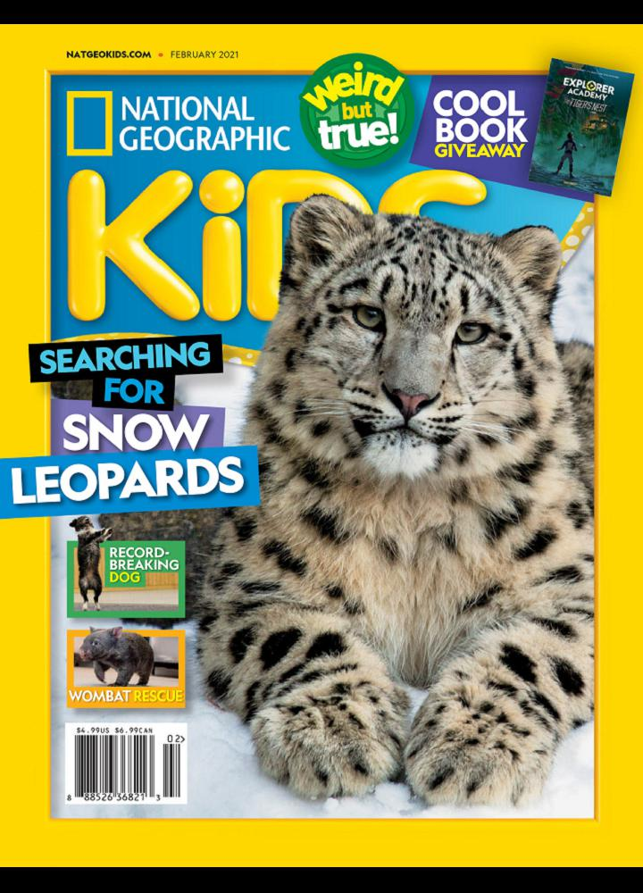 [美国版]国家地理少儿版 National Geographic Kids 2021年02月 美国版 国家地理 月刊 第1张