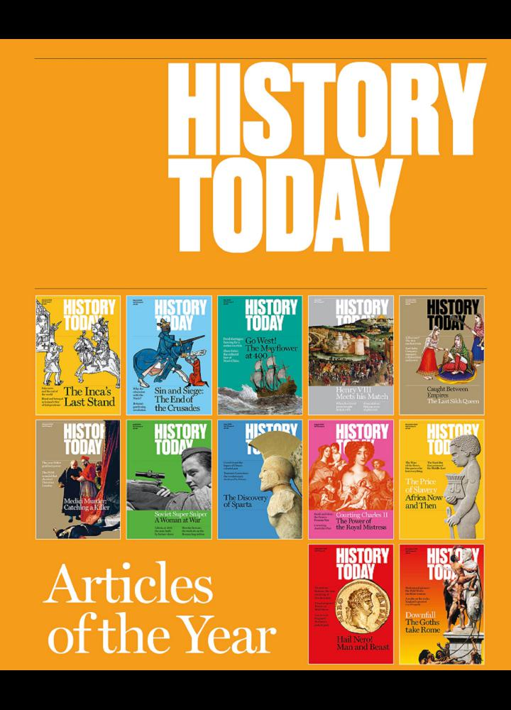 [英国版]History Today - 2020年Articles of the Year