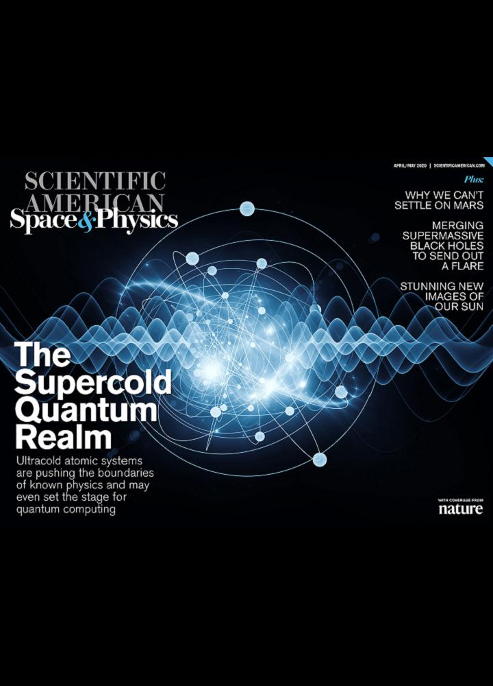 [美国版]Scientific American Space And Physics 2020年04 05月 美国版 Scientific American Space And Physics 月刊 第1张