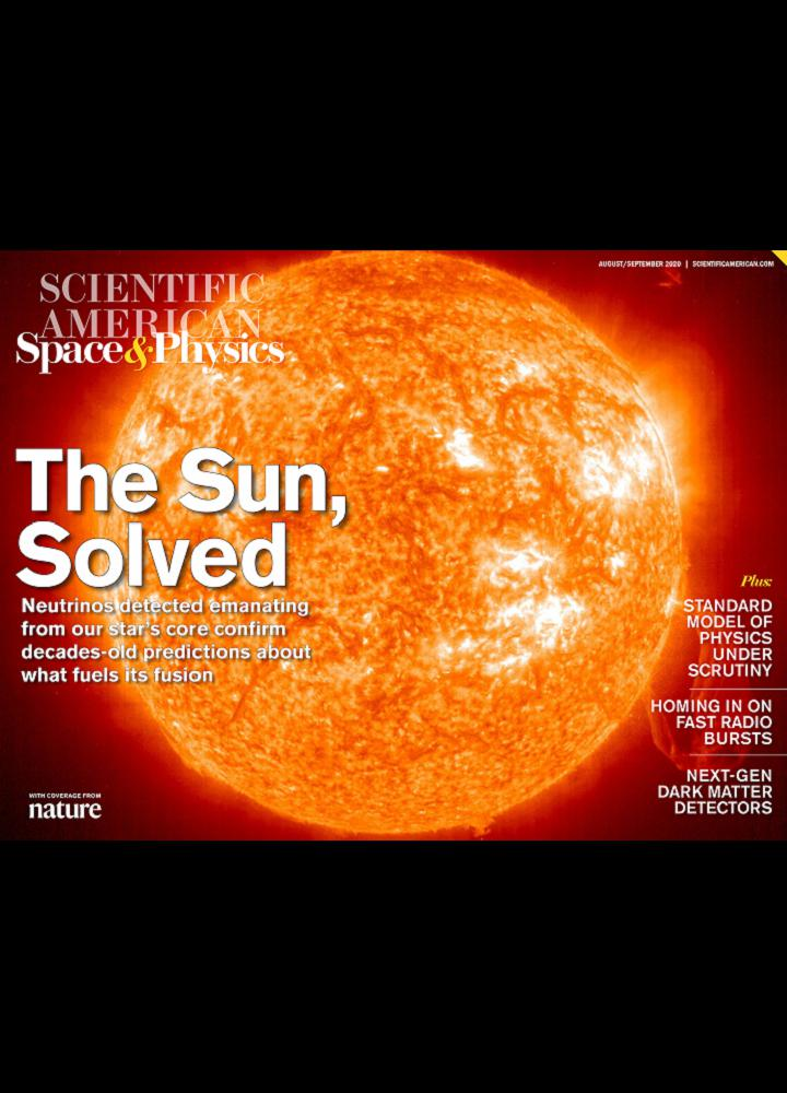 [美国版]Scientific American Space And Physics - 2020年08-09月
