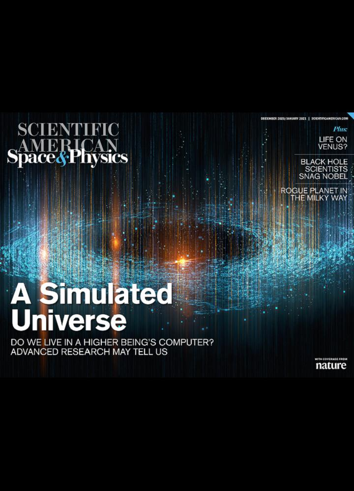 [美国版]Scientific American Space And Physics - 2021年01月