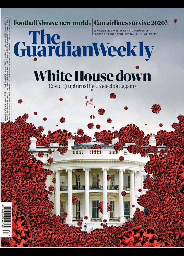 [英国版]卫报周刊 The Guardian Weekly 2020.10.08 英国版 The Guardian Weekly 周刊 第1张