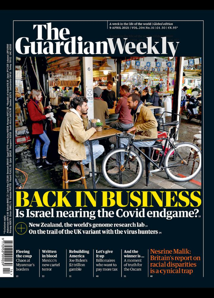 [英国版]卫报周刊 The Guardian Weekly 2021.04.09 英国版 The Guardian Weekly 周刊 第1张